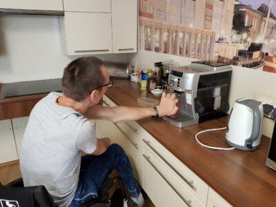 Robienie kawy zekspresu