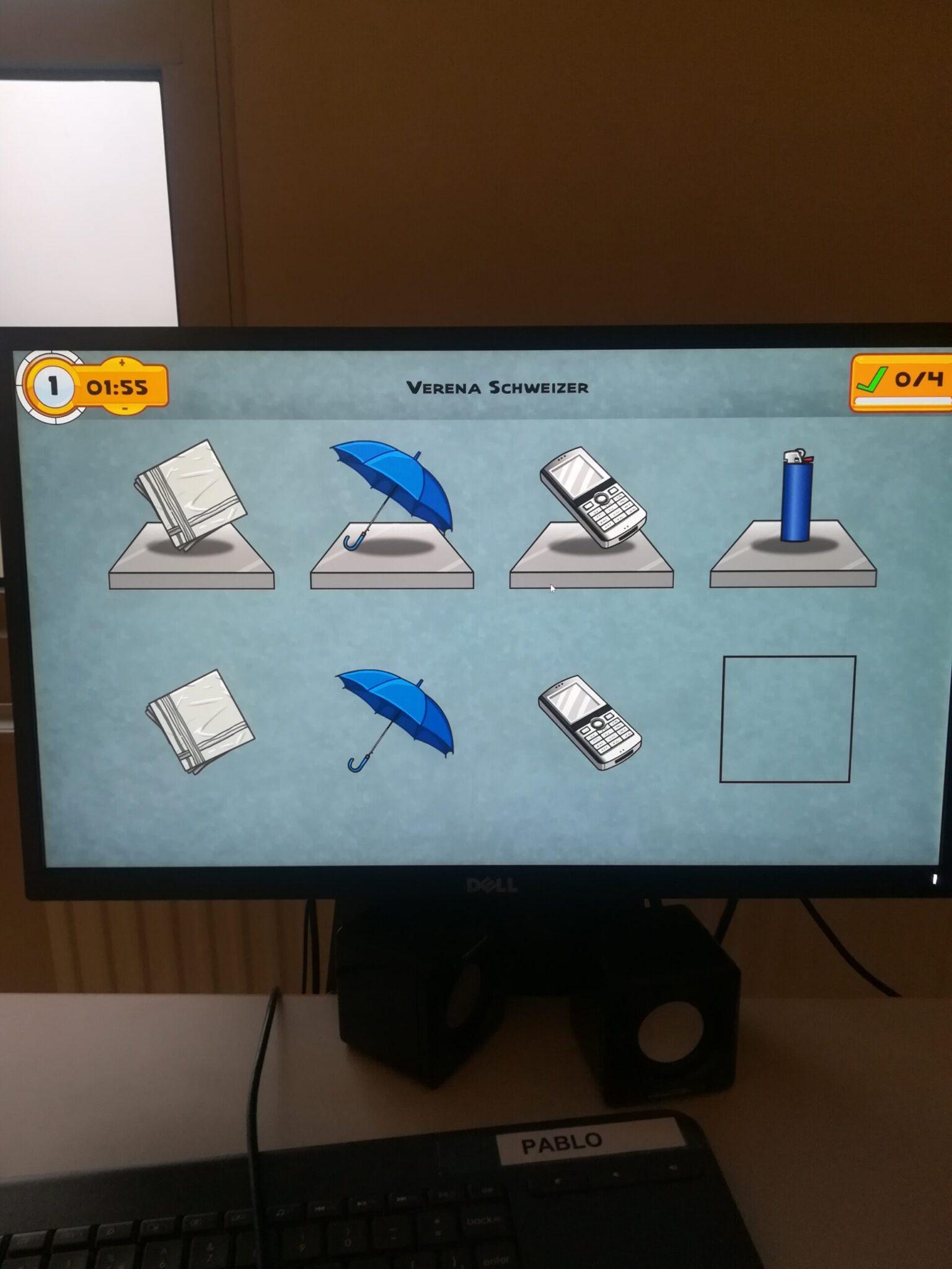 Komputer zurządzeniem Pablo - Terapia zajęciowa