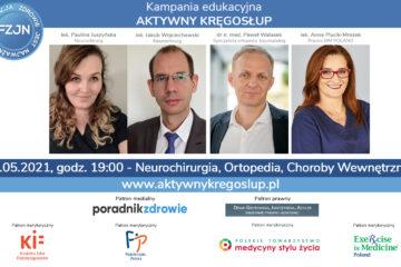 Neurochirurgia, Ortopedia, Choroby wewnętrzne #AktywnyKregoslup