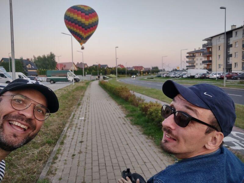 Balon na moim osiedlu