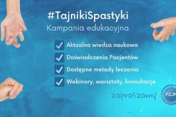 #TajnikiSpastyki – nasza nowa kampania edukacyjna